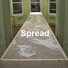Spread art work