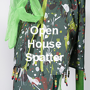 Open House Spatter art work